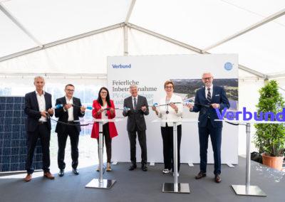 Gruppenfoto Eröffnung Ludmannsdorf