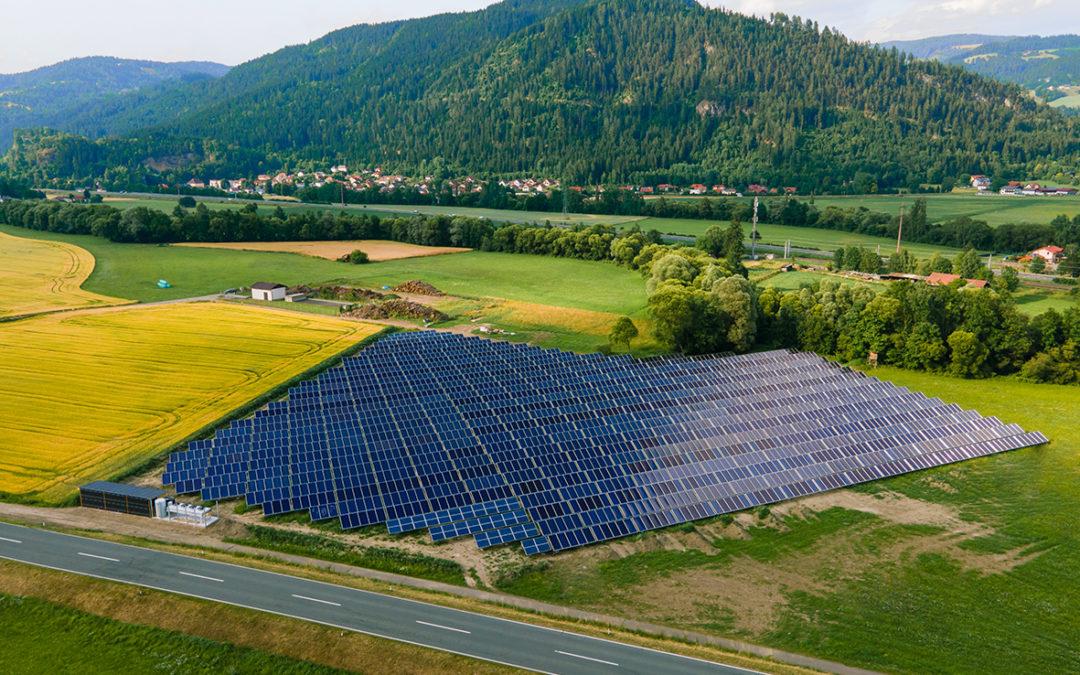 Solarthermie-Anlage in Friesach eröffnet